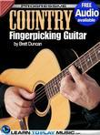Country Fingerstyle Guitar Lessons: Teach Yourself How to Play Guitar (Free Audio Available)