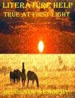 Literature Help: True at First Light