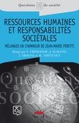Ressources humaines et responsabilités sociétales