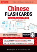Chinese Flash Cards Kit Volume 2: HSK Intermediate Level: Characters 350-622 (Downloadable Audio Included)
