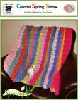 Colorful Spring Throw - Crochet Pattern