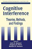 Cognitive Interference: Theories, Methods, and Findings