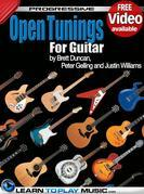 Open Tuning Guitar Lessons: Teach Yourself How to Play Guitar (Free Video Available)