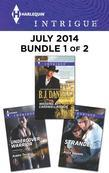 Harlequin Intrigue July 2014 - Bundle 1 of 2: Wedding at Cardwell Ranch\Undercover Warrior\Stranded