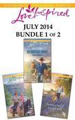 Love Inspired July 2014 - Bundle 1 of 2: Her Montana Cowboy\Redeeming the Rancher\Forever a Family