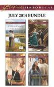 Love Inspired Historical July 2014 Bundle: A Hero in the Making\Groom by Design\Second Chance Cinderella\The Warrior's Vow
