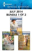 Harlequin Special Edition July 2014 - Bundle 1 of 2: Million-Dollar Maverick\The Bachelor's Brighton Valley Bride\A Bride by Summer