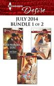 Harlequin Desire July 2014 - Bundle 1 of 2: Her Pregnancy Secret\The Sheikh's Son\Matched to a Billionaire