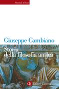 Storia della filosofia antica