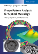 Fringe Pattern Analysis for Optical Metrology: Theory, Algorithms, and Applications