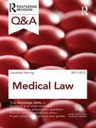 Q&A Medical Law 2011-2012