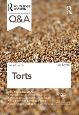 Q&A Torts 2011-2012