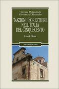 'Nazioni' forestiere nell'Italia del Cinquecento