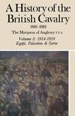 A History of British Cavalry: Volume 5: 1914-1919 Egypt, Palestine and Syria