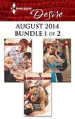Harlequin Desire August 2014 - Bundle 1 of 2: The Fiancée Caper\The Nanny Proposition\Matched to a Prince