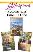 Love Inspired August 2014 - Bundle 1 of 2: His Montana Sweetheart\A Heart to Heal\The Widower's Second Chance