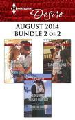 Harlequin Desire August 2014 - Bundle 2 of 2: Taming the Takeover Tycoon\Redeeming the CEO Cowboy\A Bride's Tangled Vows