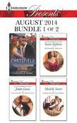 Harlequin Presents August 2014 - Bundle 1 of 2: Billionaire's Secret\Uncovering Her Nine Month Secret\His Forbidden Diamond\Taming the Notorious Sicil