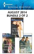 Harlequin Special Edition August 2014 - Bundle 2 of 2: A Wife for One Year\Small-Town Cinderella\The Billionaire's Nanny