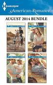 Harlequin American Romance August 2014 Bundle: True Blue Cowboy\The Texan's Little Secret\A Cowboy's Heart\The Cowboy Meets His Match