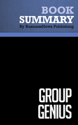 Summary: Group Genius - Keith Sawyer