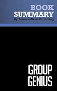 Summary: Group Genius - Keith Sawyer