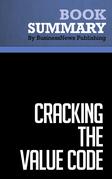 Summary: Cracking The Value Code - Richard E.S. Boulton, Barry D. Libert and Steve M. Samek