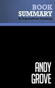 Summary: Andy Grove - Richard Tedlow