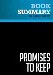 Summary of Promises to Keep: On Life and Politics - Joe Biden