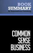 Summary: Common Sense Business - Steve Gottry