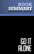 Summary: Go It Alone - Bruce Judson