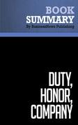 Summary: Duty, Honor, Company - Gil Dorland and John Dorland