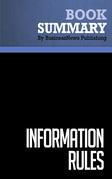 Summary: Information Rules - Carl Shapiro and Hal R. Varian