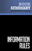 Summary: Information Rules - Carl Shapiro and Hal R. Varian
