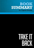 Summary of Take It Back: Our Party, Our Country, Our Future - James Carville & Paul Begala