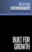 Summary: Built For Growth - Arthur Rubinfeld and Collins Hemingway