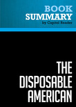 Summary of The Disposable American: Layoffs and Their Consequences - Louis Uchitelle