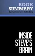 Summary: Inside Steve's Brain - Leander Kahney