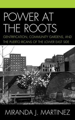 Power at the Roots: Gentrification, Community Gardens, and the Puerto Ricans of the Lower East Side
