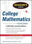 Schaum's Outline of College Mathematics, Fourth Edition