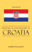 Historical Dictionary of Croatia