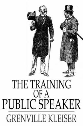 The Training of a Public Speaker