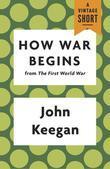 How War Begins: from The First World War