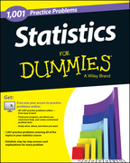 Statistics: 1,001 Practice Problems for Dummies (+ Free Online Practice)
