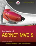 Professional ASP.NET MVC 5