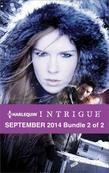 Harlequin Intrigue September 2014 - Bundle 2 of 2: Way of the Shadows\The Wharf\Stalked