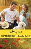 Love Inspired September 2014 - Bundle 2 of 2: Her Hometown Hero\The Deputy's New Family\Rescuing the Texan's Heart