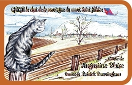 Chichi, le chat de la montagne du mont Saint-Hilaire