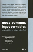 Nous sommes ingouvernables