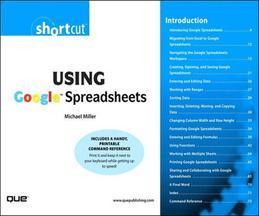 Using Google Spreadsheets (Digital Short Cut)